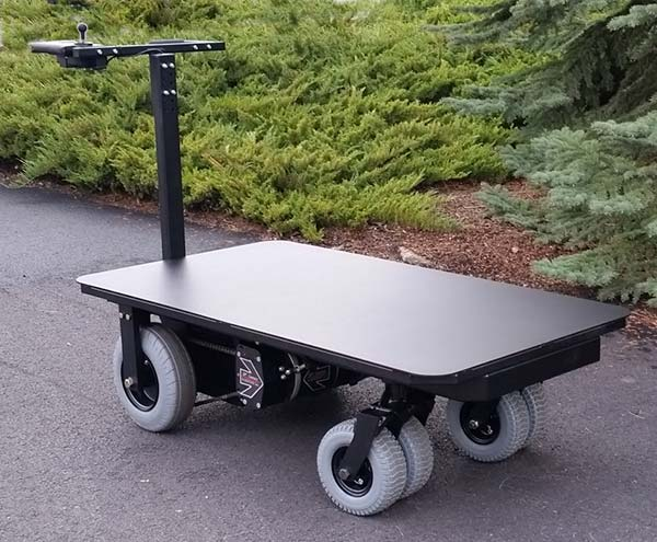 BOUNDER Motorized Cart with 2000 lb weight capacity